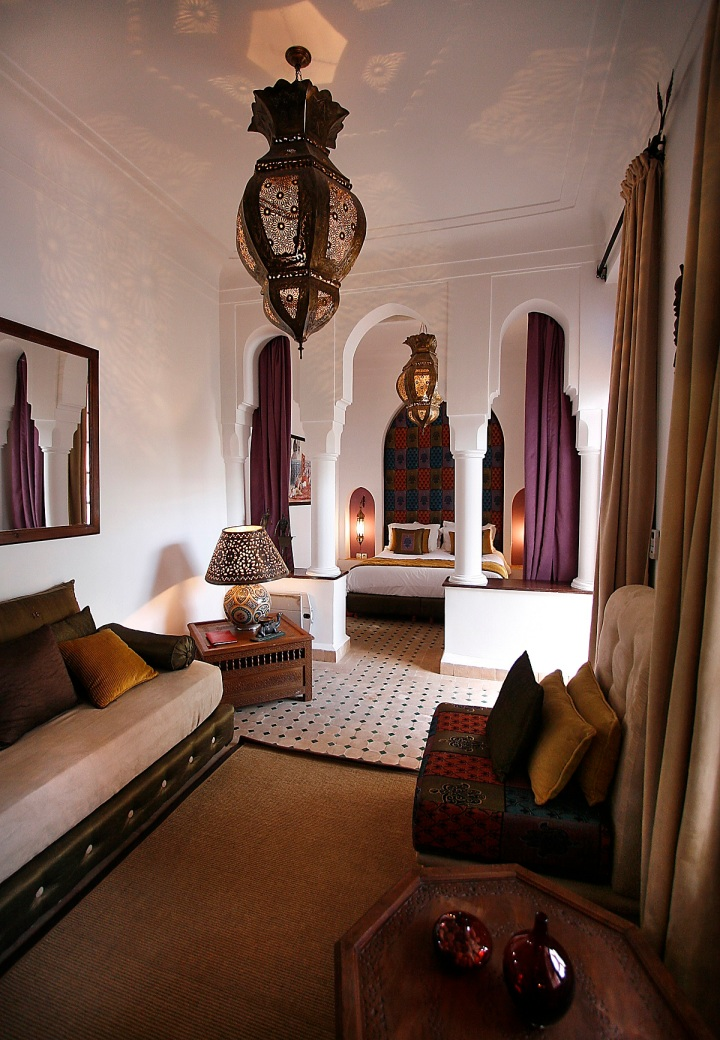 MARRAKECH RIADS WITH AMAZING INTERIOR DESIGN