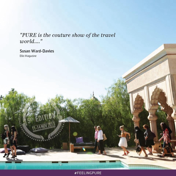 PURE is the couture show of the travel world